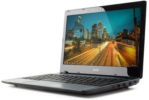 Acer C7 Chromebook – самый дешевый в мире ноутбук