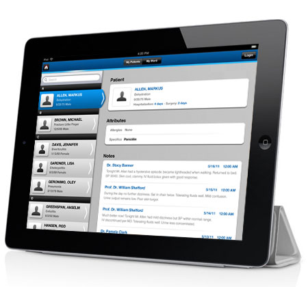 Мобильное приложение EMR app поможет врачам контролировать состояние здоровья пациентов на расстоянии