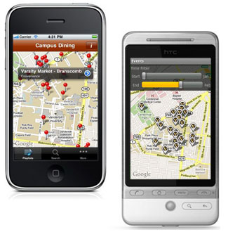 Бесплатное приложение HERE Maps для мобильных устройств iPhone и iPad
