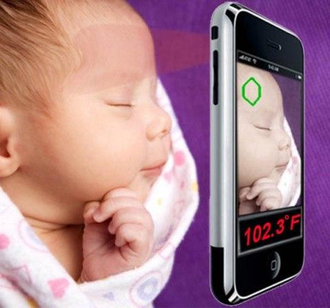 Получен патент на бесконтактный термометр для смартфона