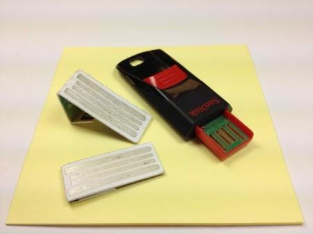 Компания intelliPaper предлагает визитную карточку с usb-накопителем
